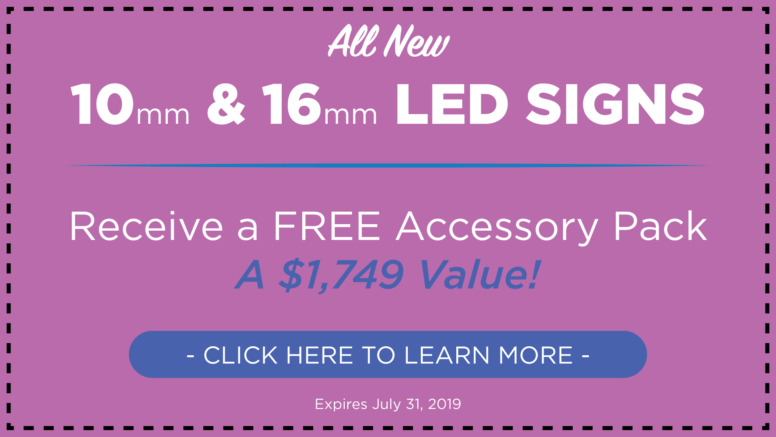 Outdoor LED Signs | AdChoice LED Signs